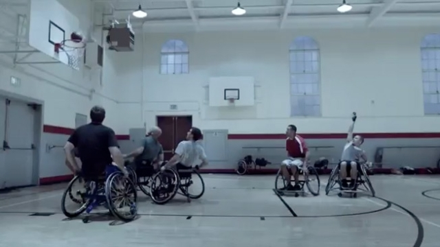 Guinness wheelchair